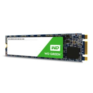 SSD WESTERN DIGITAL Green 240GB M.2 SATA 3.0 Read speed 545 MBytes/sec MTBF 1000000 hours WDS240G2G0B
