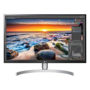 LCD Monitor|LG|27UL850-W|27″|4K|Panel IPS|3840×2160|16:9|60 Hz|5 ms|Speakers|27UL850-W