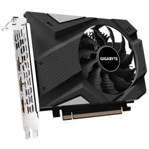 Graphics Card|GIGABYTE|NVIDIA GeForce GTX 1650|4 GB|128 bit|PCIE 3.0 16x|GDDR5|Memory 8002 MHz|GPU 1665 MHz|2xHDMI|1xDisplayPort|GV-N1650IX-4GD