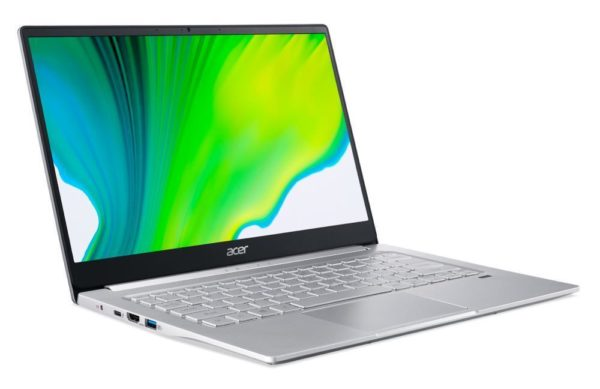 Notebook|ACER|Swift 3|SF314-59-562H|CPU i5-1135G7|2400 MHz|14″|1920×1080|RAM 8GB|DDR4|SSD 256GB|Intel UHD Graphics|Integrated|ENG|Windows 10 Home|Pure Silver|1.2 kg|NX.A0MEL.006